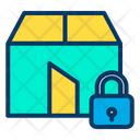 Lock Parcel Icon