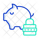 Wealth Lock Password Good Password Icon