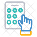 Pattern Lock Mobile Icon