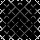 Pattern Unlock Gesture Icon