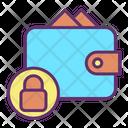 Lock Payment Bills Lock Wallet Secure Wallet Icon