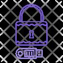 Lock pendrive Icon
