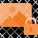 Lock Photo Image Icon