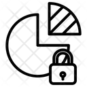 Lock Pie Chart Icon