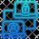 Lock Profile Lock Account Send Profile Icon