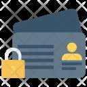 Profile Lock Id Icon