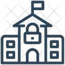 Lock School Icon