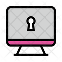 Lcd Lock Screen Icon