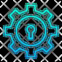 Lock Setting Keyhole Optimization Icon