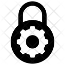Lock Setting Padlock Gear Padlock Setting Icon