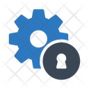 Key Lock Seo Icon
