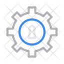 Keyhole Lock Setting Icon