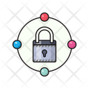 Lock Sharing Private Icon