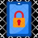 Lock Smartphone Smartphone Mobilephone Icon