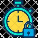 Lock Stopwatch Icon