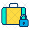 Lock Suitcase Icon
