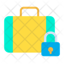 Briefcase Office Bag Lock Bag Icon