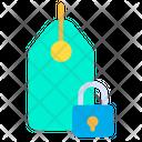 Label Badge Lock Tag Icon