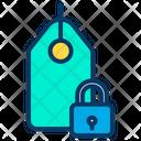 Lock Tag Icon