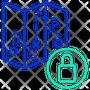 Lock Travel Map Icon