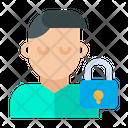 User Profile Lock Icon