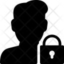 Lock User Action Icon