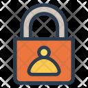 User Lock Padlock Icon