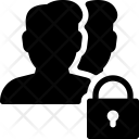 Lock Users Icon