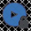 Lock Video Private Video Video Icon