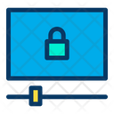 Lock Video Video Player Icon