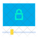 Lock Video Icon