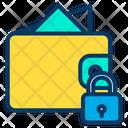 Lock Wallet Icon