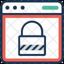 Padlock Block Security Icon