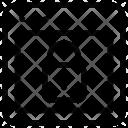Lock Webpage Layout Icon