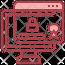 Lock Website Icon