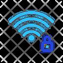 Lock Wireless Signal Icon