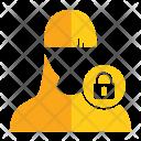 Lock User Avatar Icon