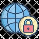 Lockdown World Lockdown Global Lockdown Icon