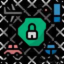 Lockdown Close No Entry Icon