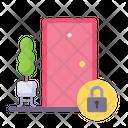 Quarantine Stay Home Lockdown Icon