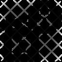 Lockdown Quarantine Home Icon