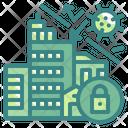 Lockdown Quarantine Security Icon