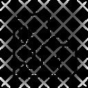 Lockdown City Coronavirus Pandemic Icon