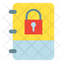 Note Locked Private Icon