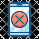 Locked Smartphone Delete Icon