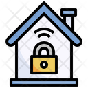 Locked Home Security Protection Icon