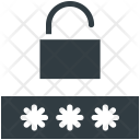 Locked Password Digital Icon
