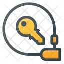 Locked Bicycle Icon
