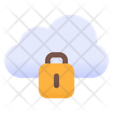 Locked Cloud Cloud Protection Cloud Security Icon