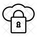 Locked Cloud Icon
